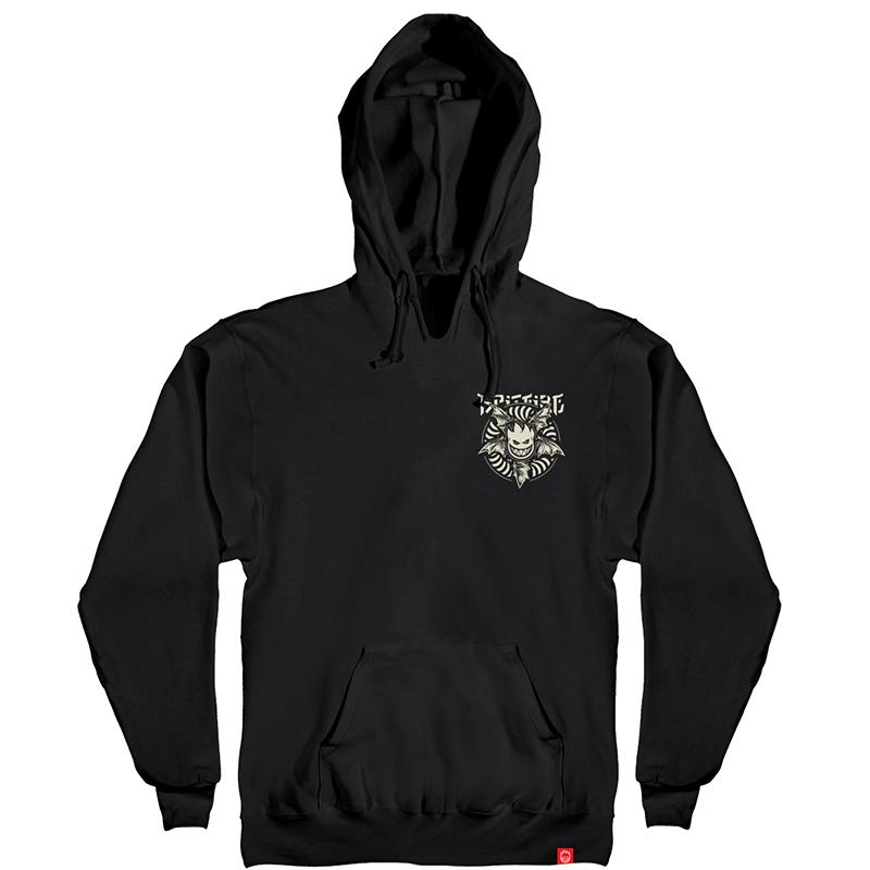 Spitfire Nocturnus Hoodie Black/Raw