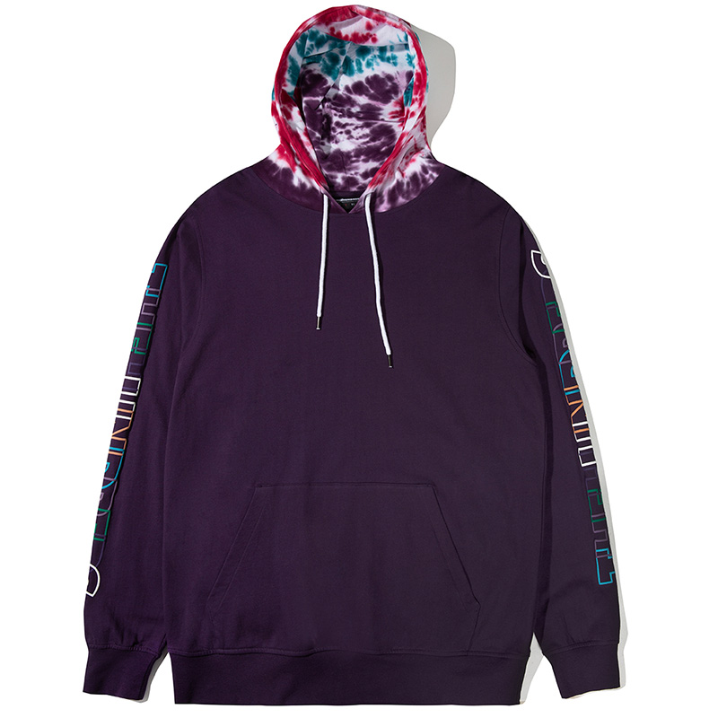 The Hundreds Headspin Hoodie Purple