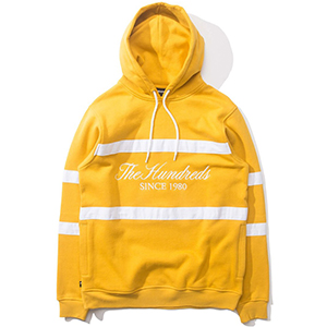 The Hundreds Palmer Hoodie Mustard