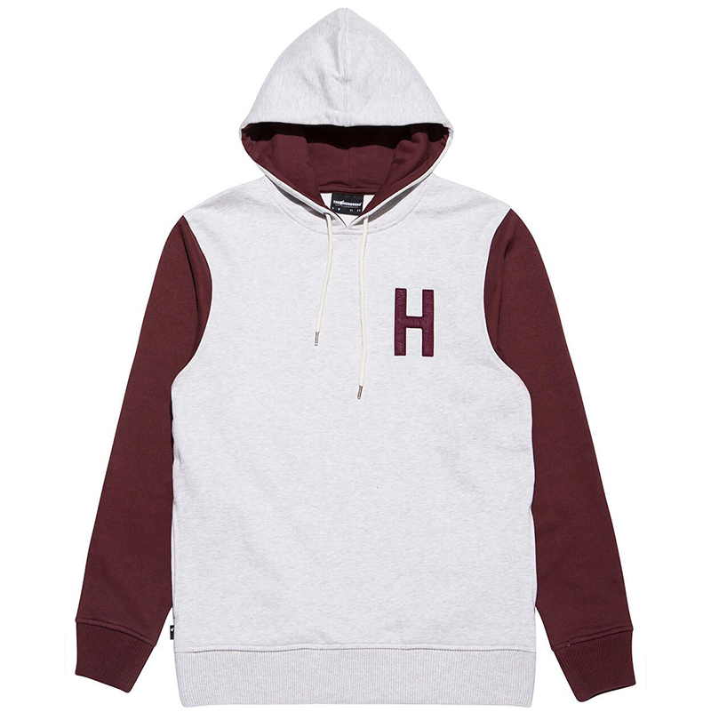 The Hundreds Quentin Hoodie Ash Heather