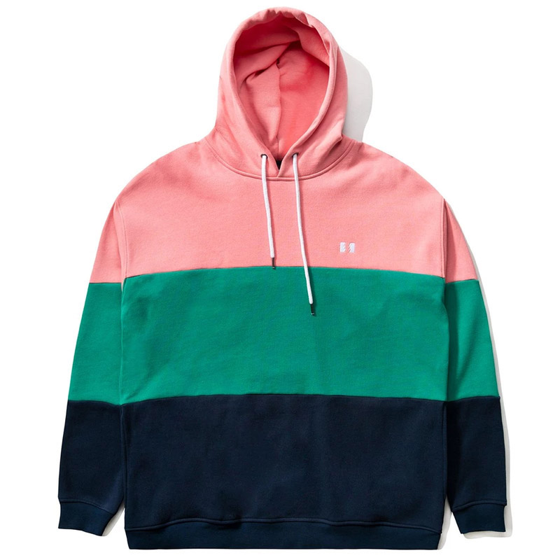 The Hundreds Seaton Hoodie Pink