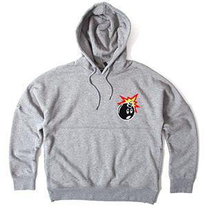The Hundreds Stalker Hoodie Athletic Heather