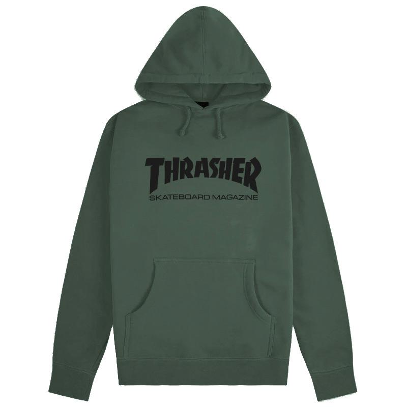 Thrasher Skate Mag Hoodie Army Green