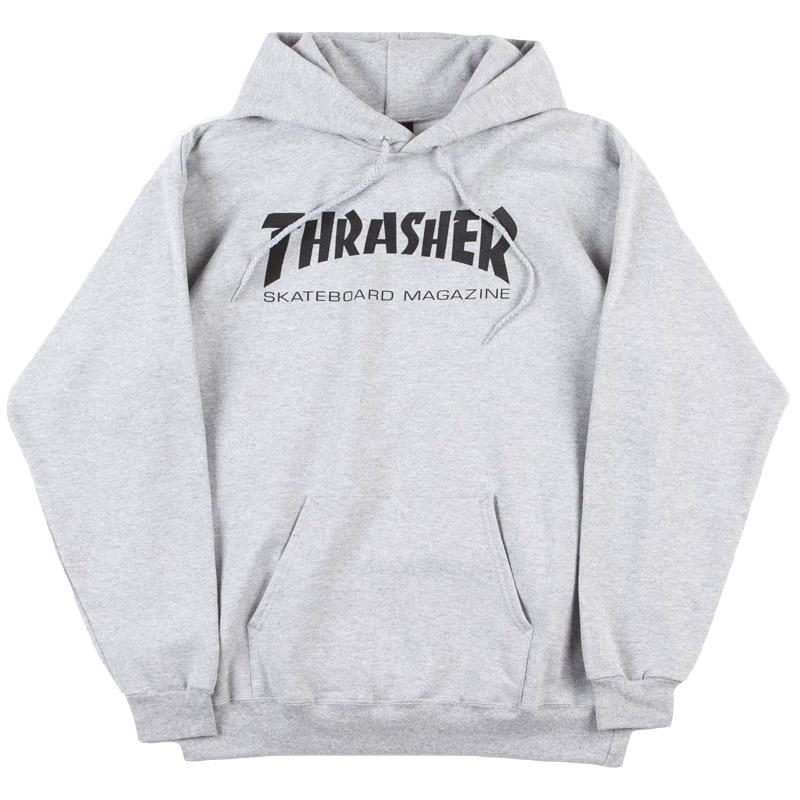 Thrasher Skate Mag Hoodie Grey S Skatestore.nl