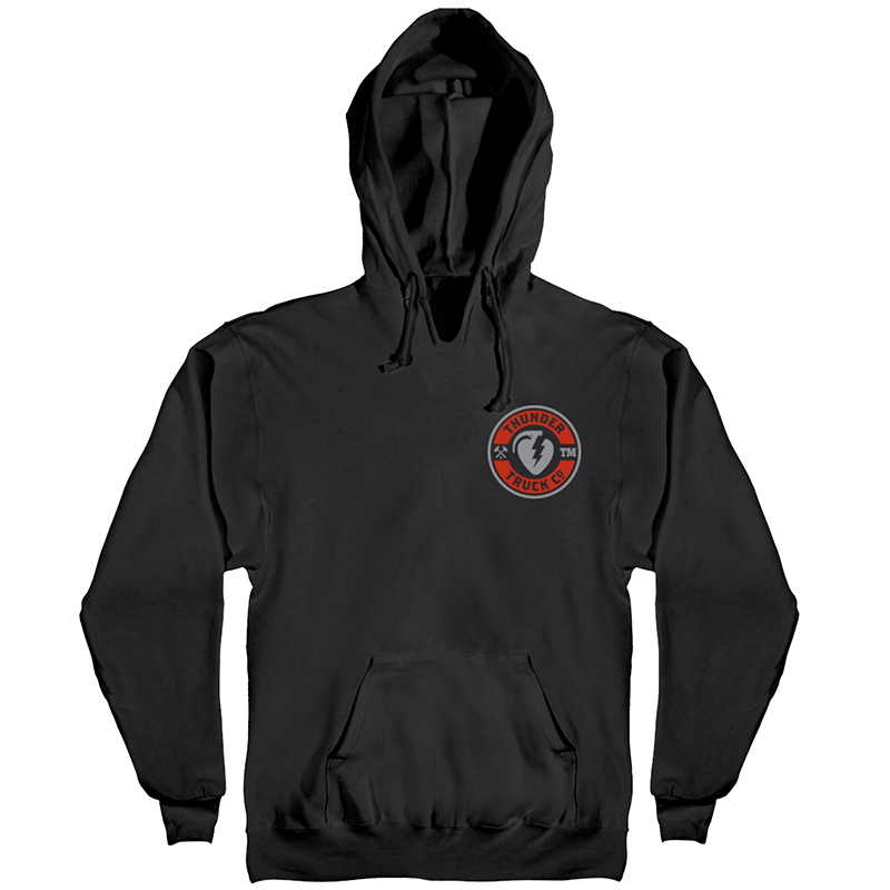 Thunder Mainline Hoodie Black/Red/Grey