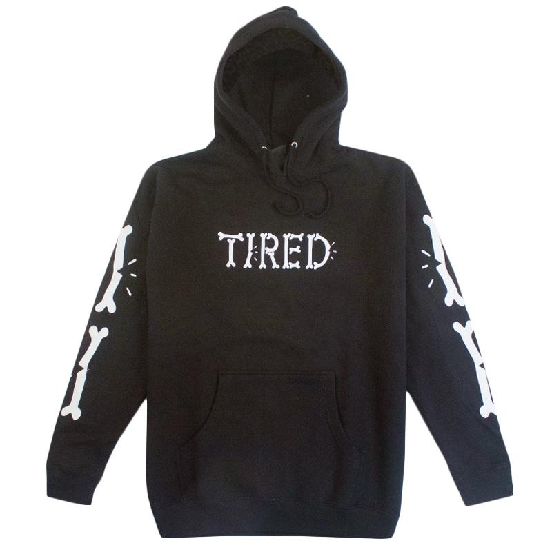 Tired Bones Hoodie Black