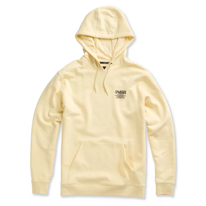 Vans Distort Type Hoodie Double Cream