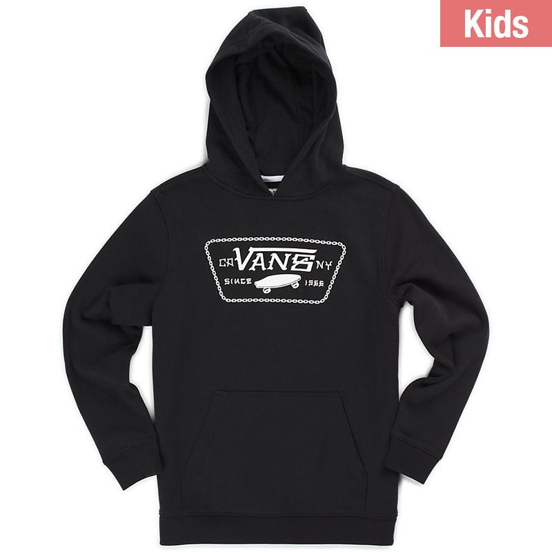 Vans Kids Full Chain Hoodie Black