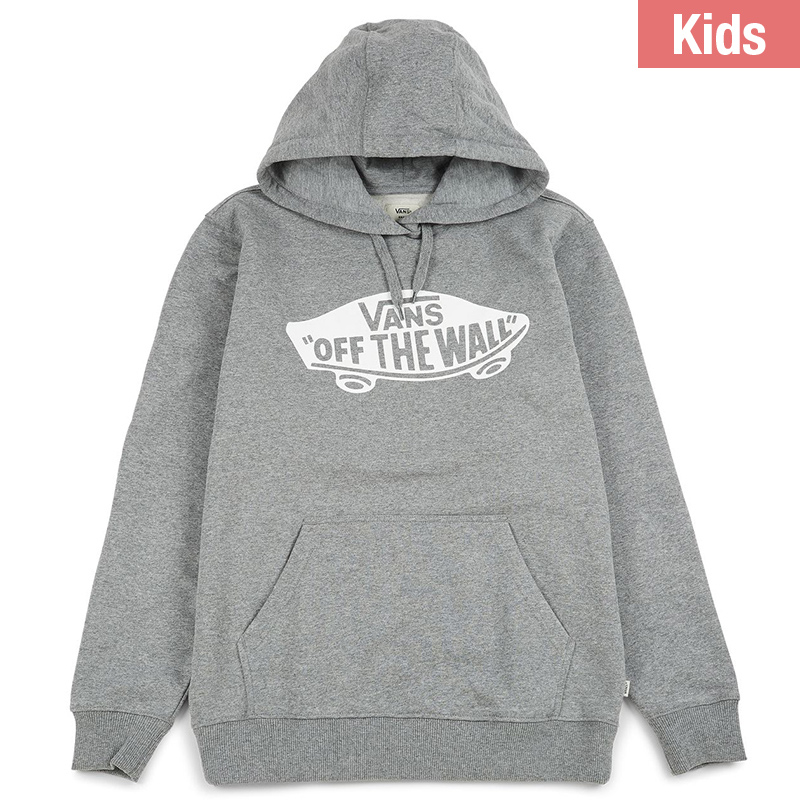 Vans Kids Otw Fleece Hoodie Concrete Heather