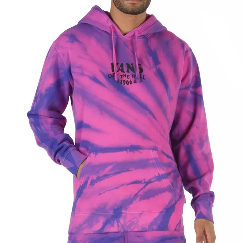 Vans Park Tie Dye Hoodie Fuchsia Purple