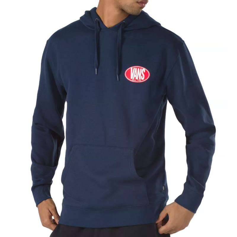 Vans Retro Oval Hoodie Dress Blues