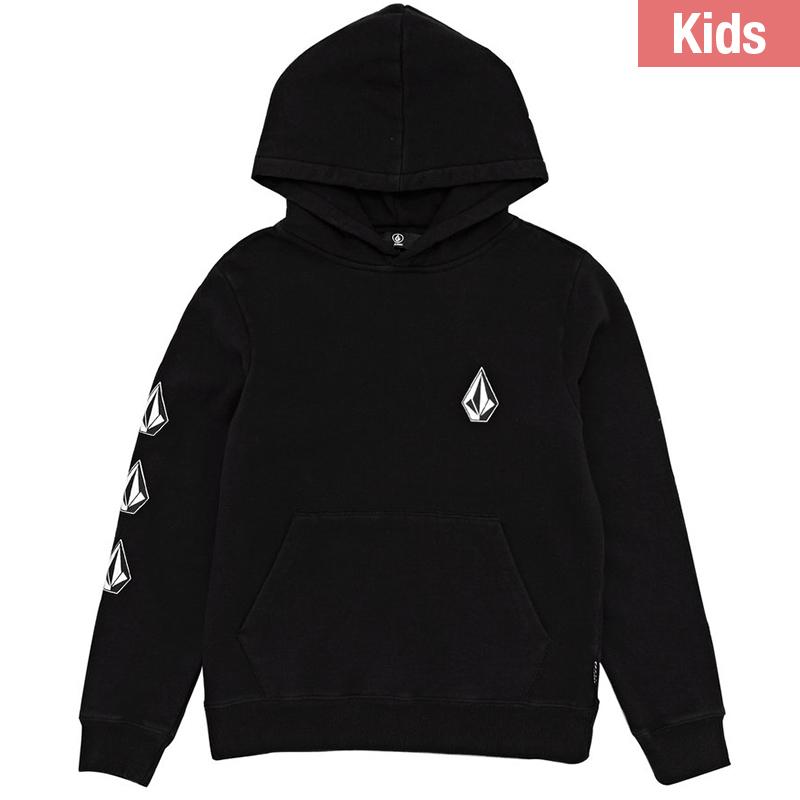 Volcom Kids Deadly Stone Hoodie Black