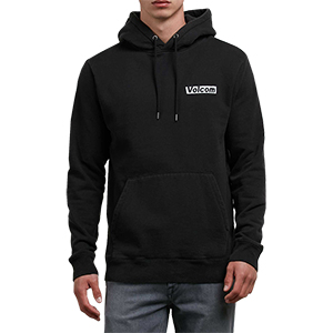 Volcom Reload Hoodie Washed Black