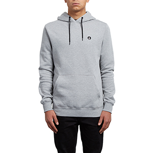 Volcom Single Stone Hoodie Grey