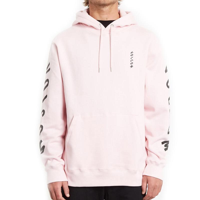 Volcom Supply Stone Hoodie Snow Pink
