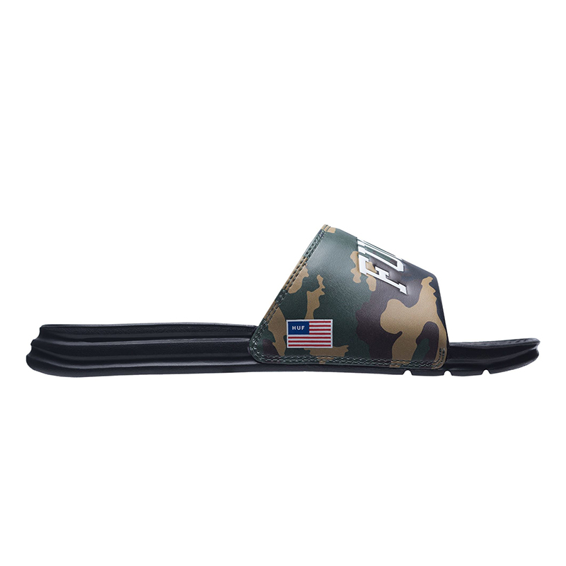 HUF 4Th Of July Fuck It Slide Woodland Camo