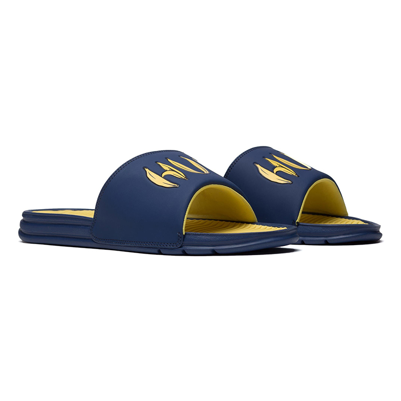 HUF Banana Slide Sandals 44.5 EU Navy iLPwCfFwj
