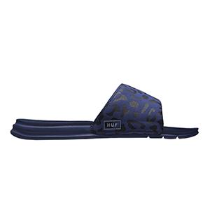 HUF Slide Blue Leopard