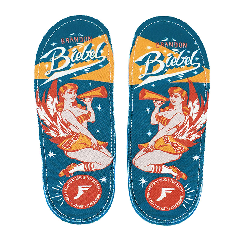 Footprint Brondon Biebels Angels Orthotic Insoles