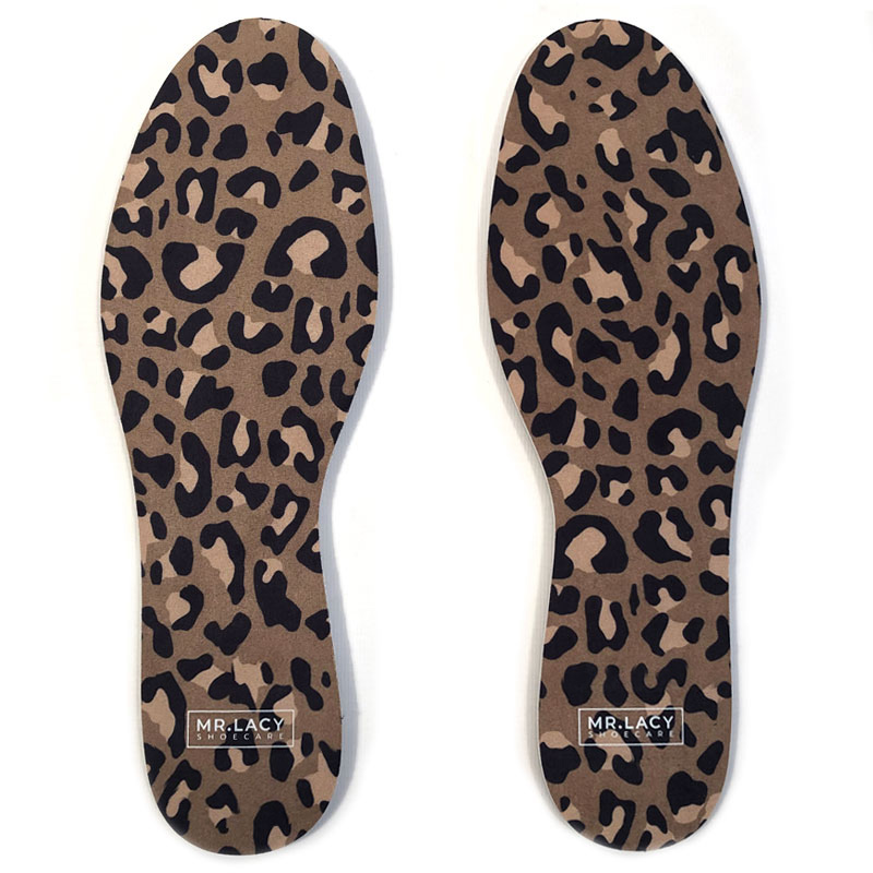 Mr. Lacy Insoles Print Pack Leopard Brown