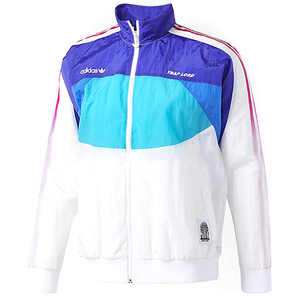 adidas Ferg Windbreaker Jacket White/Eneink/Blue/En