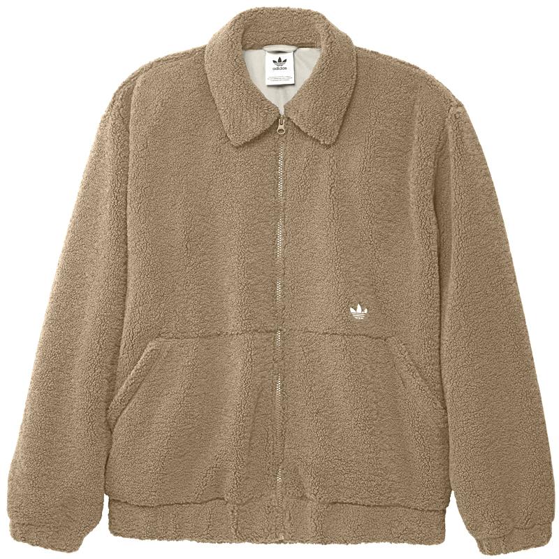 adidas Fleece Tt Jacket Cardbo/Mingre/Alumin