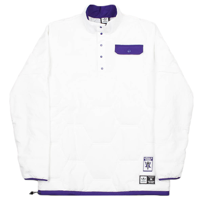 adidas x Hardies Jacket White/Cpurpl