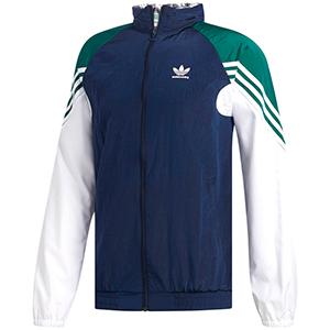 adidas Lightweight Zip Track Jacket Nindig/Cgreen/White