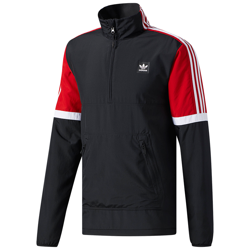Adidas Neck Jacket Black/Scarle/White