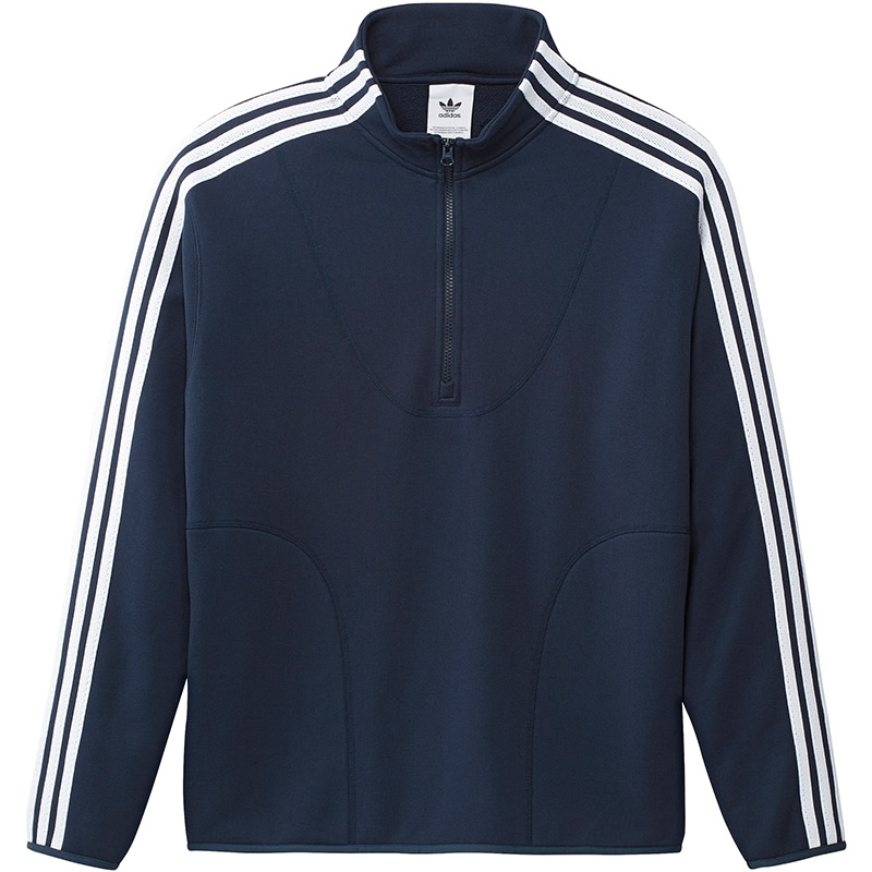 adidas Terry Track Top Conavy/White