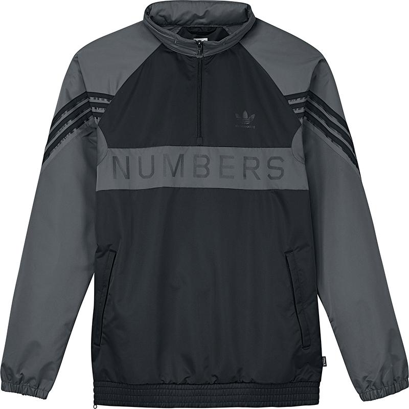 adidas X Numbers Trainingsjack Black/Grefiv/Carbon
