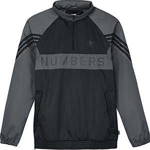 adidas X Numbers Trainingsjack Black/Grefiv/Carbon
