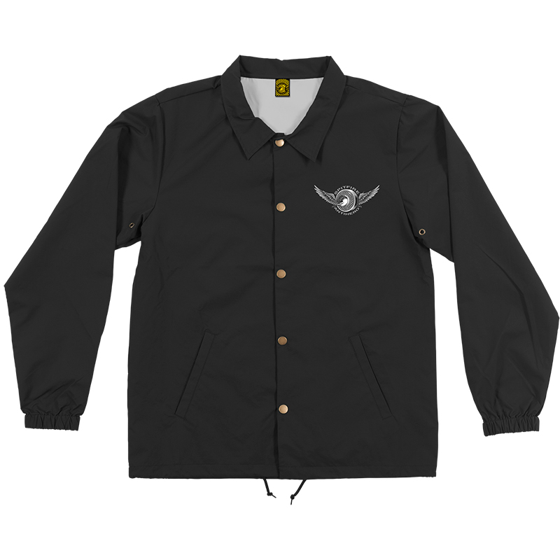 Anti Hero x Spitfire Classic Eagle Coach Jacket Black
