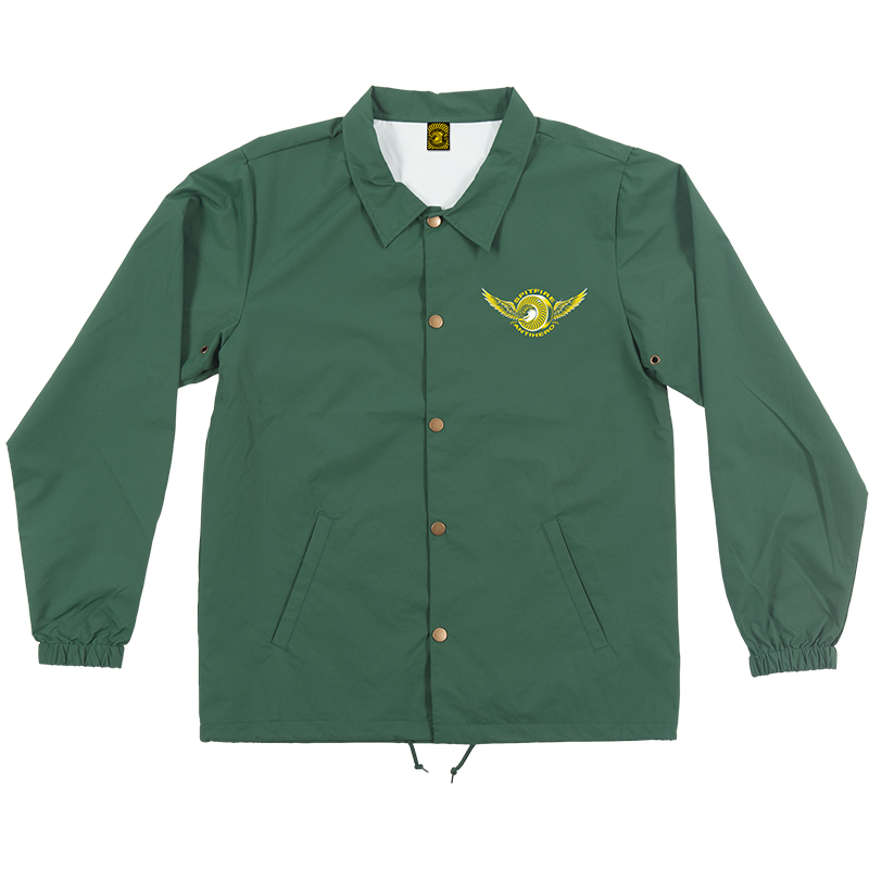 Anti Hero x Spitfire Classic Eagle Coach Jacket Forrest Green