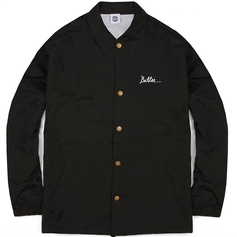 Butter Goods Nevermind Coach Jacket Black
