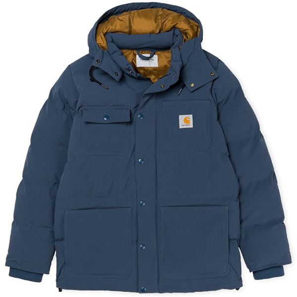 Carhartt Alpine Coat Steel Navy/Hamilton Brown