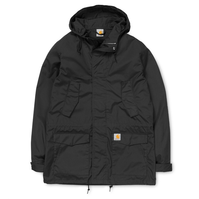Carhartt Battle Parka Jacket Black