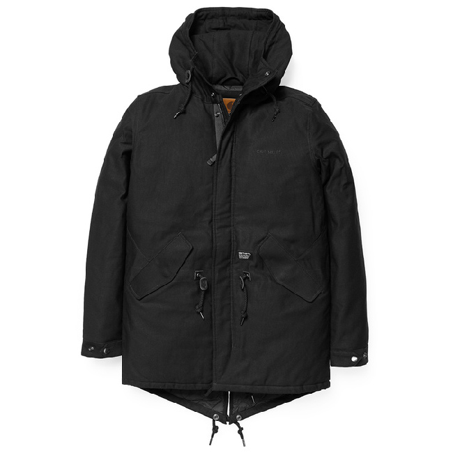 Carhartt Clash Parka Jacket Black