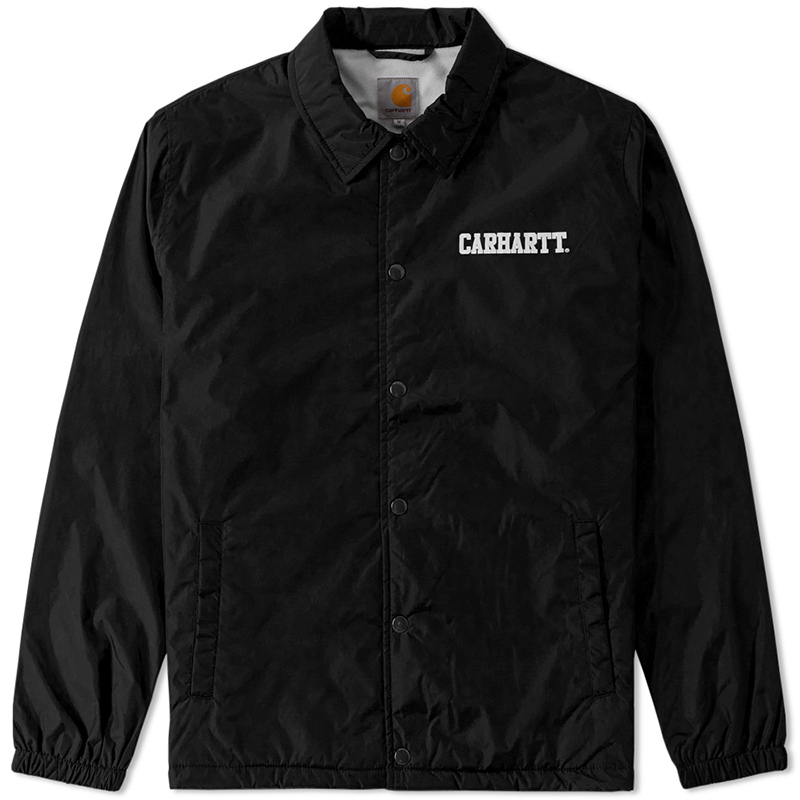 Carhartt College Coach Jacket Black