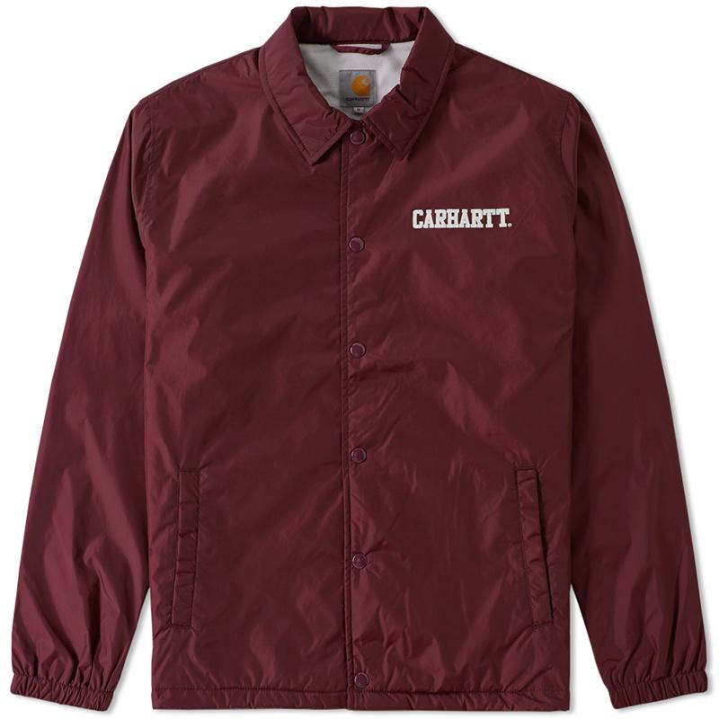 Carhartt College Coach Jacket Chianti