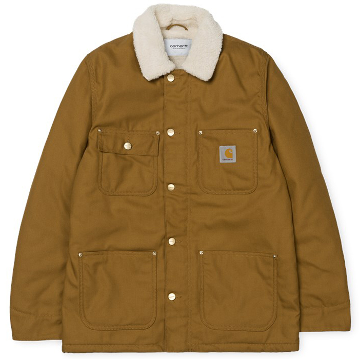 Carhartt Fairmount Coat Hamilton Brown Rigid