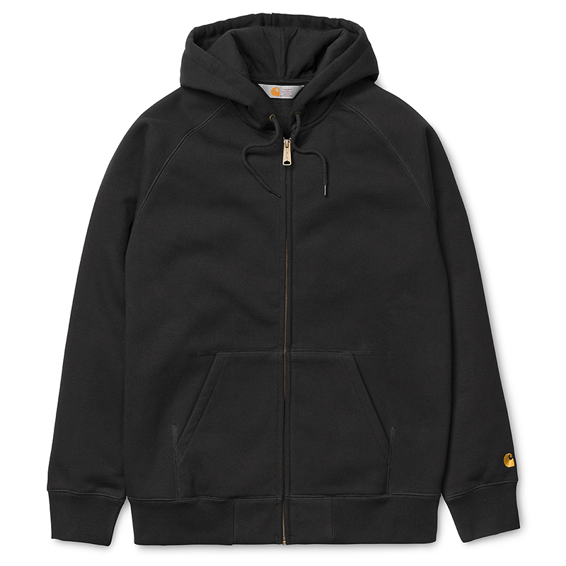 Carhartt Hooded Chase Sweater Black/Gold