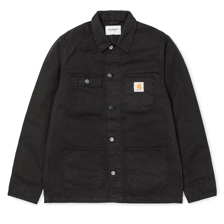 Carhartt Michigan Chore Coat Jacket Black
