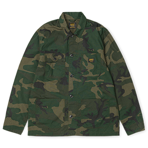 Carhartt Michigan Shirt Jacket Camo Combat Green