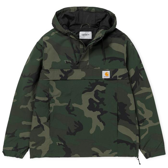 Carhartt Nimbus Pullover Jacket Camo Combat Green Mesh Lining