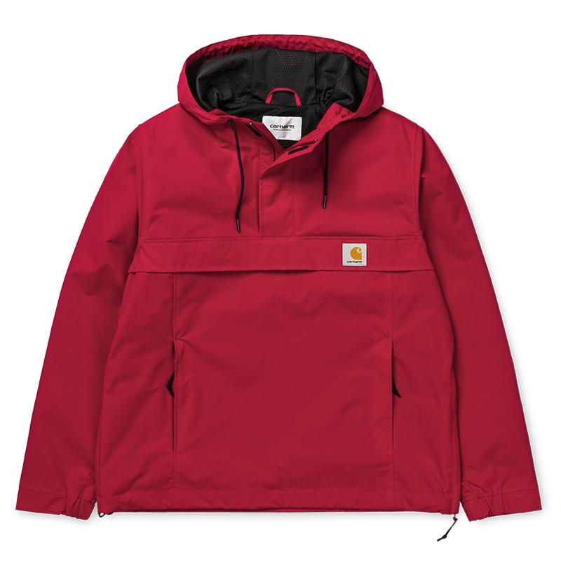 Carhartt Nimbus Pullover Jacket Cardinal - Summer