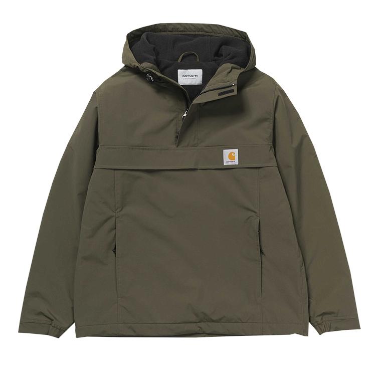 Carhartt Nimbus Pullover Jacket Cypress Fleece Lining