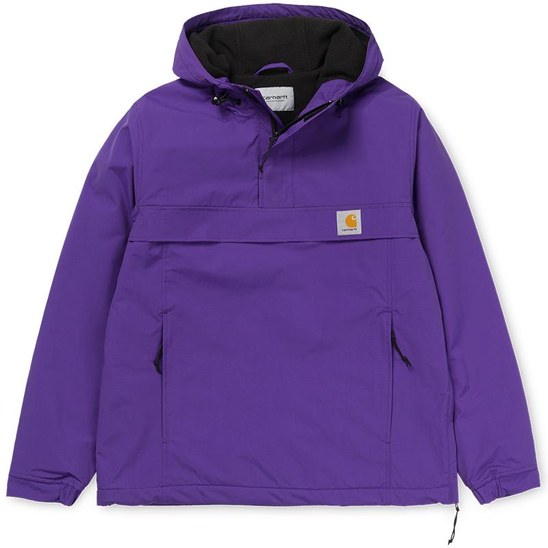Carhartt Nimbus Pullover Jacket Frosted Viola Fleece Lining