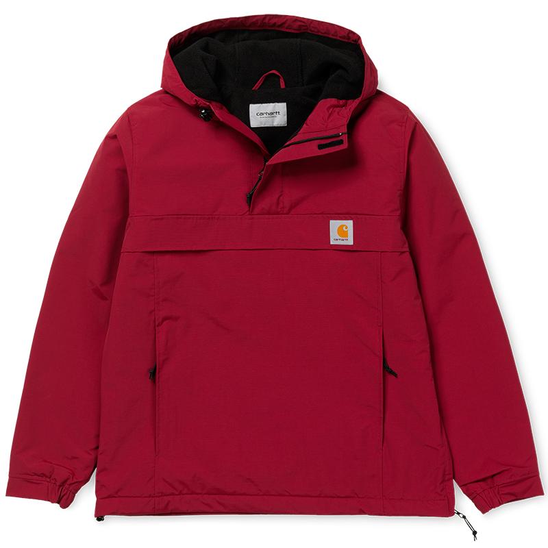 Carhartt Nimbus Pullover Jacket Mulberry - Winter