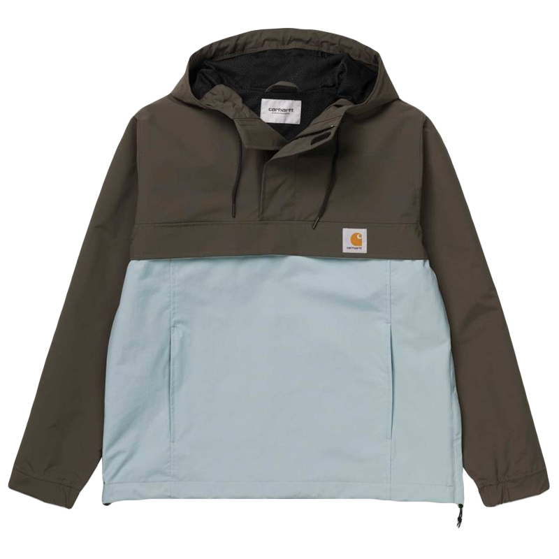 Carhartt Nimbus Two Tone Pullover Jacket Cypress/Soft Aloe - Summer